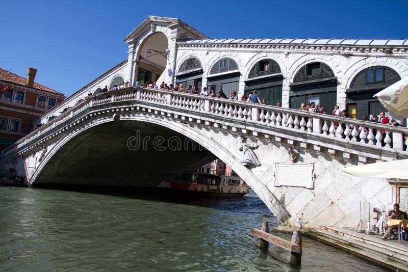Γέφυρα Rialto στοκ εικόνες με δικαίωμα ελεύθερης χρήσης
