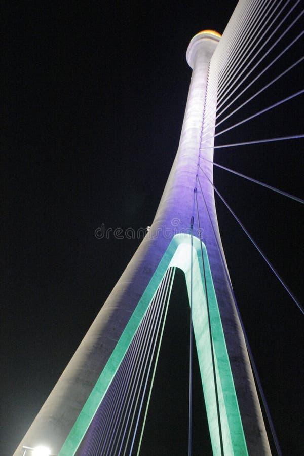 Γέφυρα RIPAS, Μπρουνέι στοκ φωτογραφίες