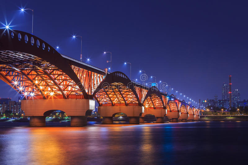 Γέφυρα Seongsan στοκ φωτογραφία με δικαίωμα ελεύθερης χρήσης