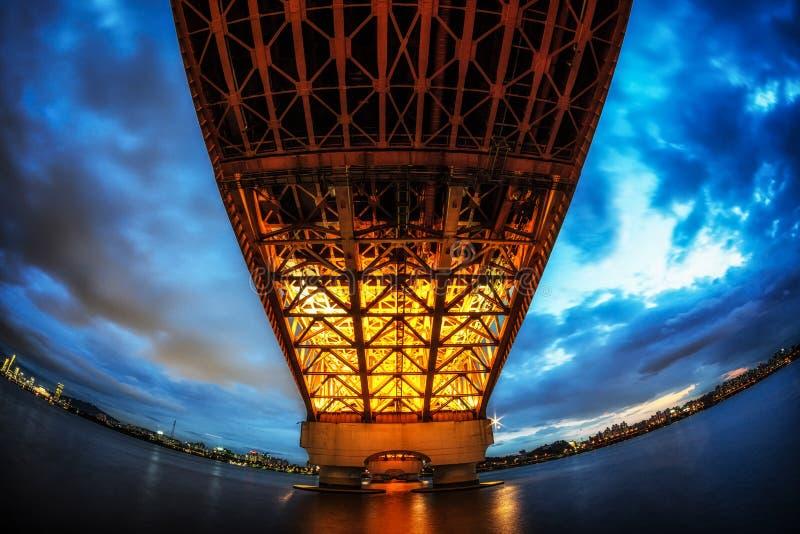 Γέφυρα Seongsan στοκ εικόνα