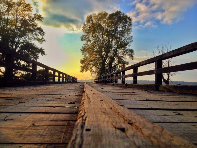 Γέφυρα Sopot στοκ φωτογραφία