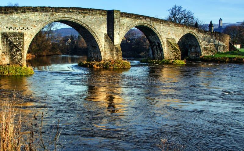 Γέφυρα Stirling στοκ εικόνες με δικαίωμα ελεύθερης χρήσης