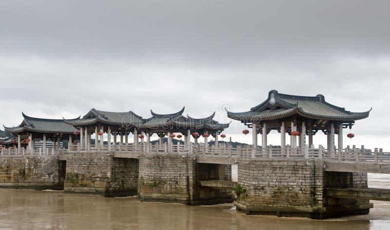 γέφυρα syantse teochew στοκ φωτογραφίες
