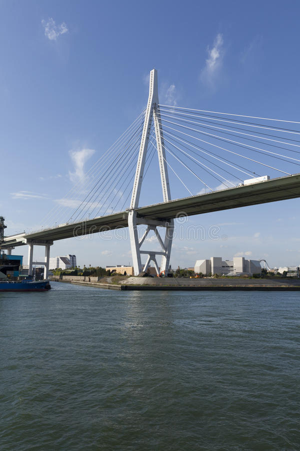 Γέφυρα Tempozan στοκ φωτογραφία με δικαίωμα ελεύθερης χρήσης