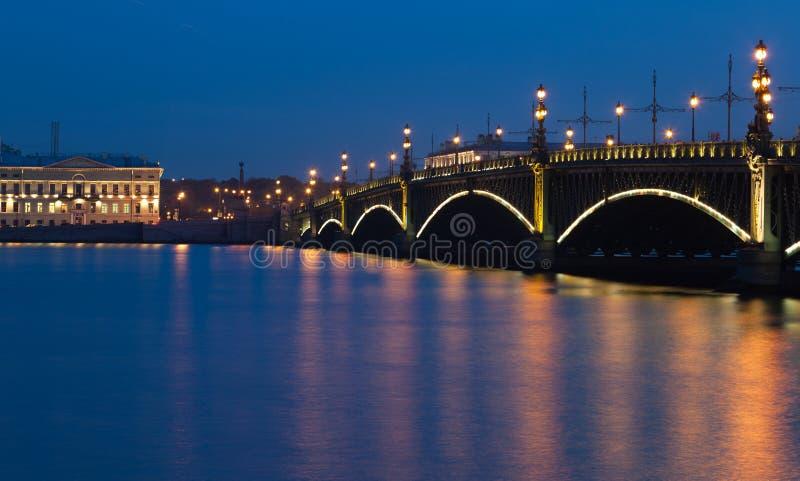 Γέφυρα Troitsky στοκ εικόνες