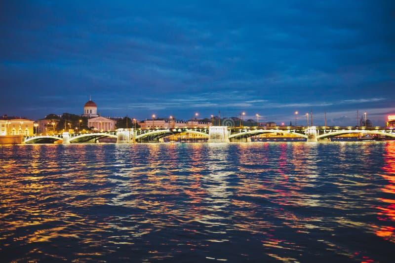 γέφυρα troitsky στοκ φωτογραφία