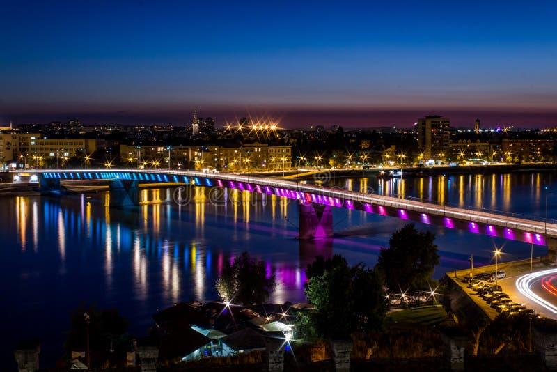 Γέφυρα Varadin στοκ φωτογραφίες