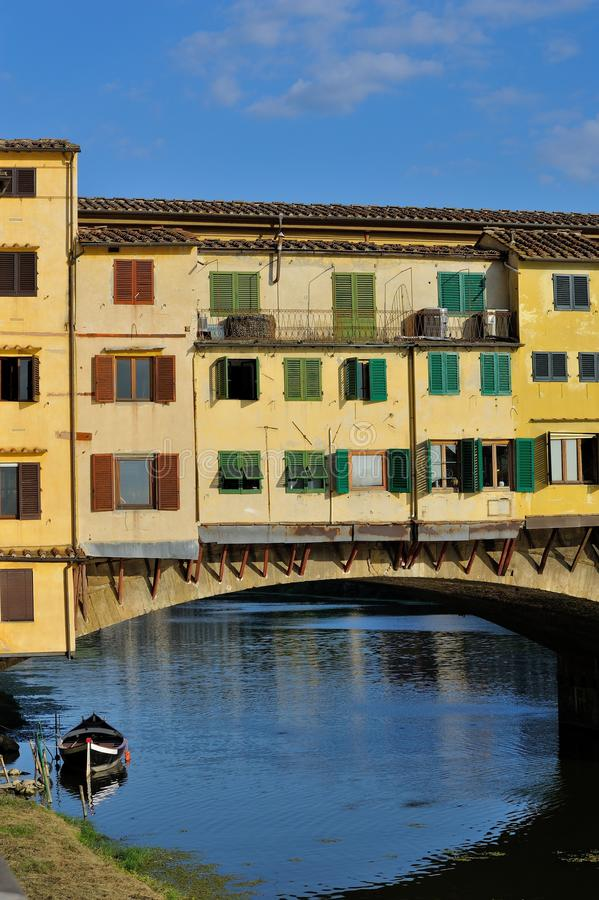 Γέφυρα Vecchio Ponte στοκ φωτογραφία με δικαίωμα ελεύθερης χρήσης