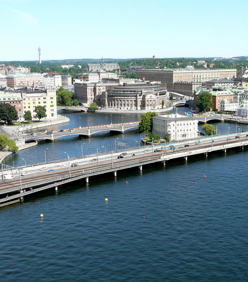 γέφυρες δύο στοκ εικόνες με δικαίωμα ελεύθερης χρήσης