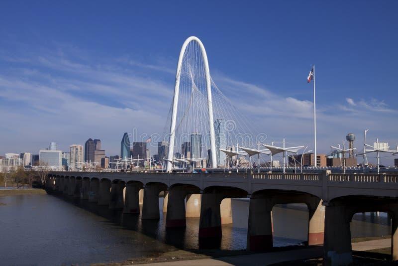 Γέφυρες του Ντάλλας στοκ εικόνες με δικαίωμα ελεύθερης χρήσης