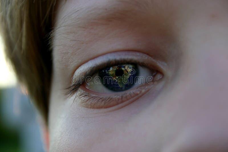 γήινα μάτια δικοί του στοκ φωτογραφίες με δικαίωμα ελεύθερης χρήσης