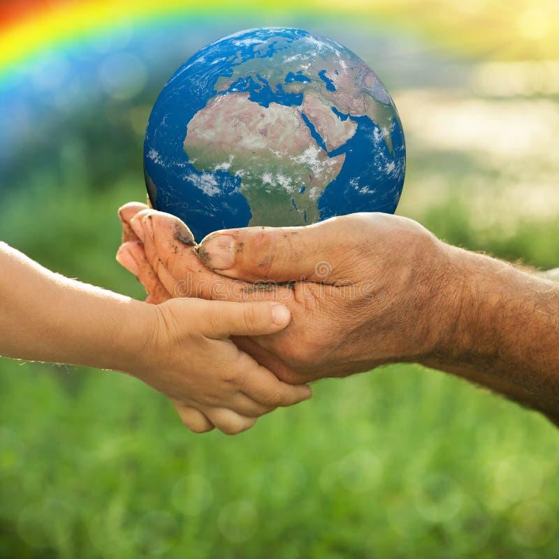 Γήινη ημέρα ελεύθερη απεικόνιση δικαιώματος
