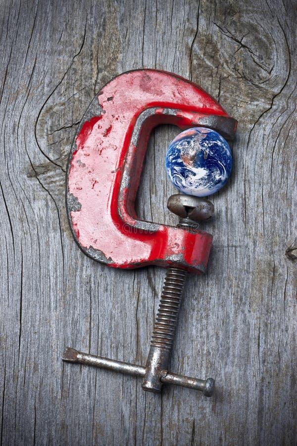 Γήινη κλιματική αλλαγή στοκ φωτογραφία με δικαίωμα ελεύθερης χρήσης