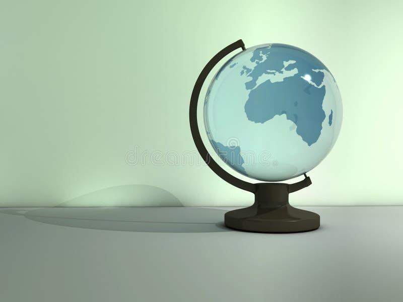 Γήινη σφαίρα στοκ φωτογραφία με δικαίωμα ελεύθερης χρήσης