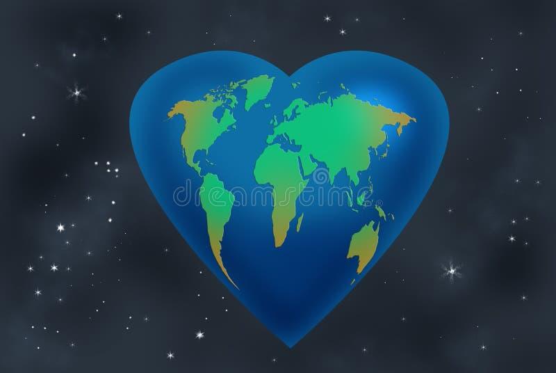 γήινη 4 αγάπη απεικόνιση αποθεμάτων