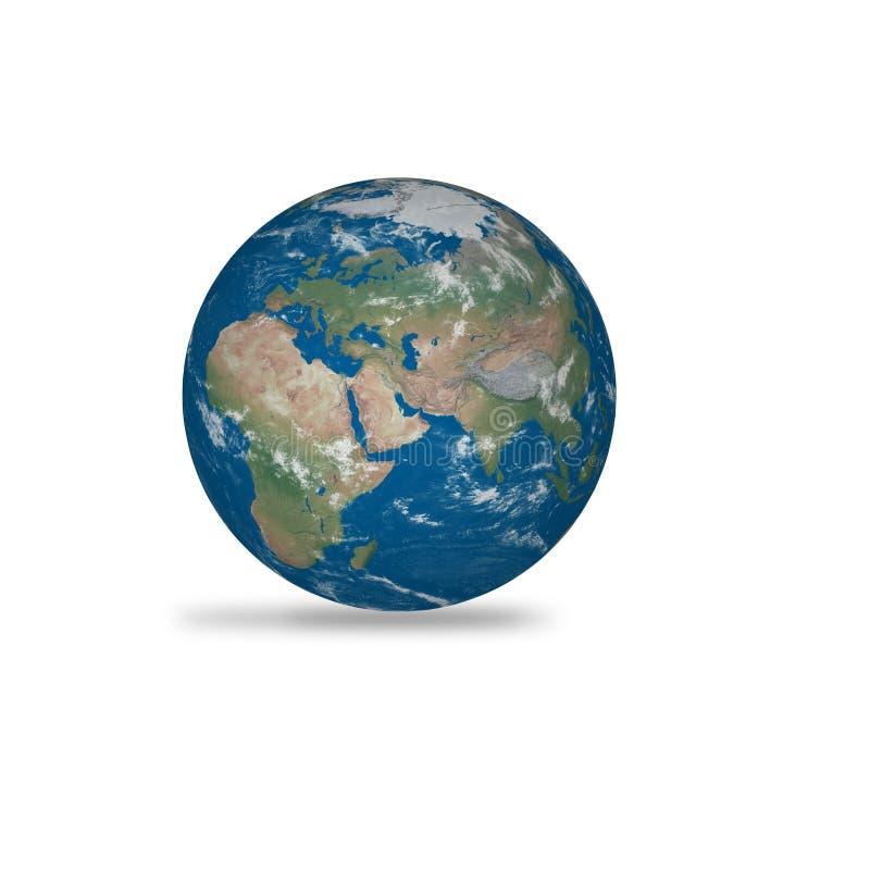 γήινος πλανήτης ρεαλιστικός απεικόνιση αποθεμάτων