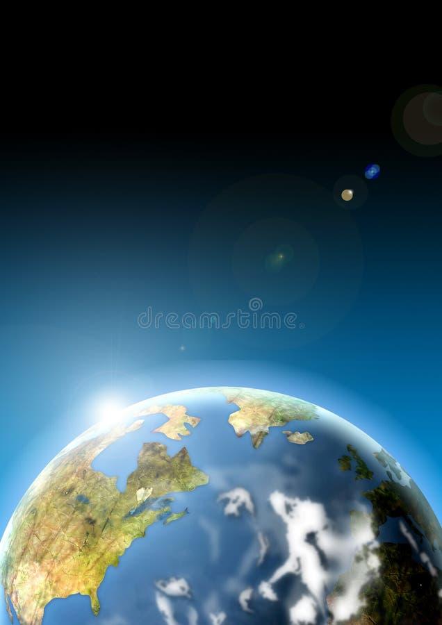 γήινος πλανήτης ελεύθερη απεικόνιση δικαιώματος