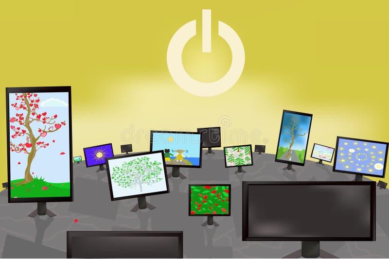 Download γήινο μέλλον διανυσματική απεικόνιση. εικονογραφία από έννοια - 13178521