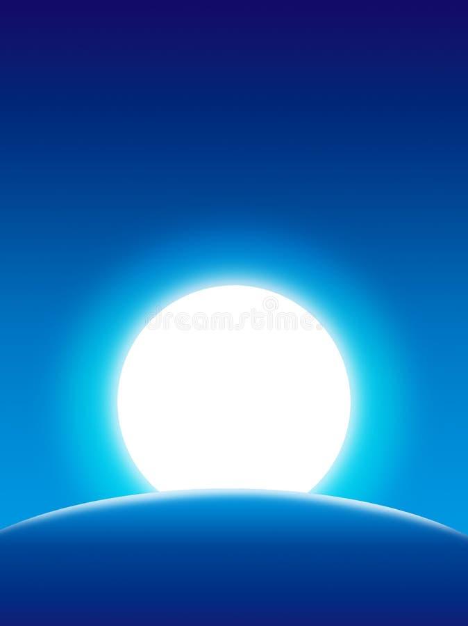 γήινο φεγγάρι ανασκόπηση&sigmaf στοκ εικόνες με δικαίωμα ελεύθερης χρήσης