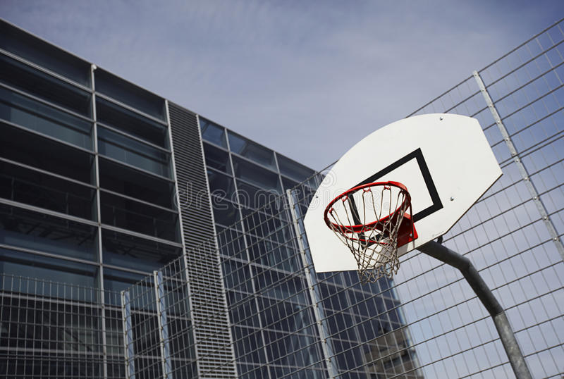 γήπεδο μπάσκετ στοκ εικόνες