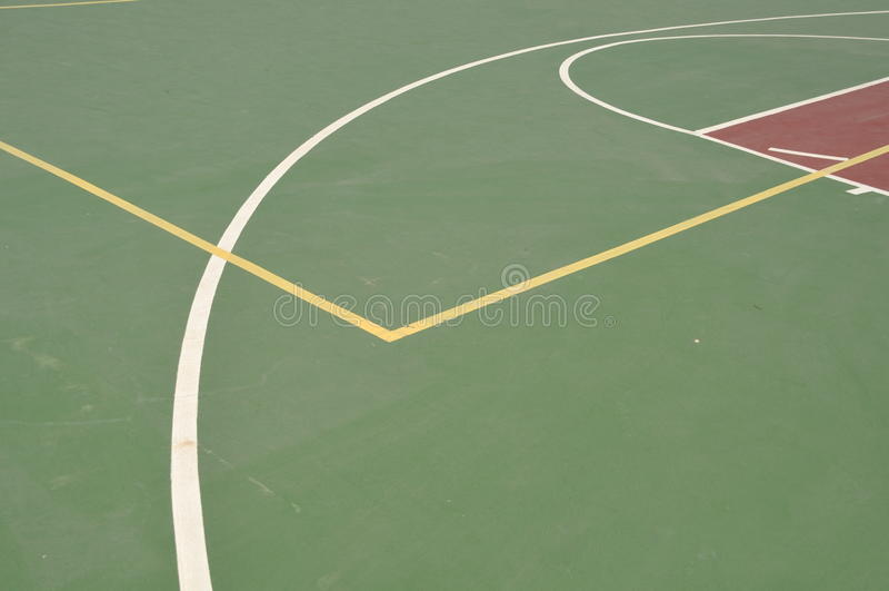 γήπεδο μπάσκετ στοκ φωτογραφία