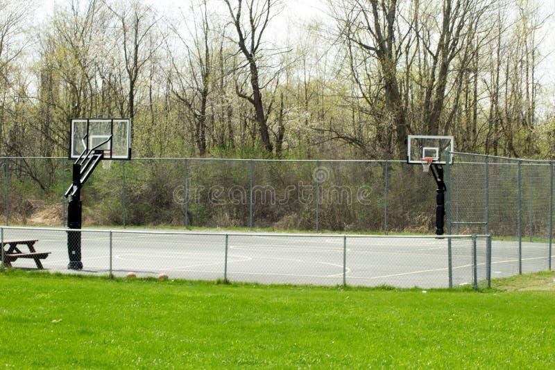 γήπεδο μπάσκετ εάν απεικόνιση στοκ εικόνες