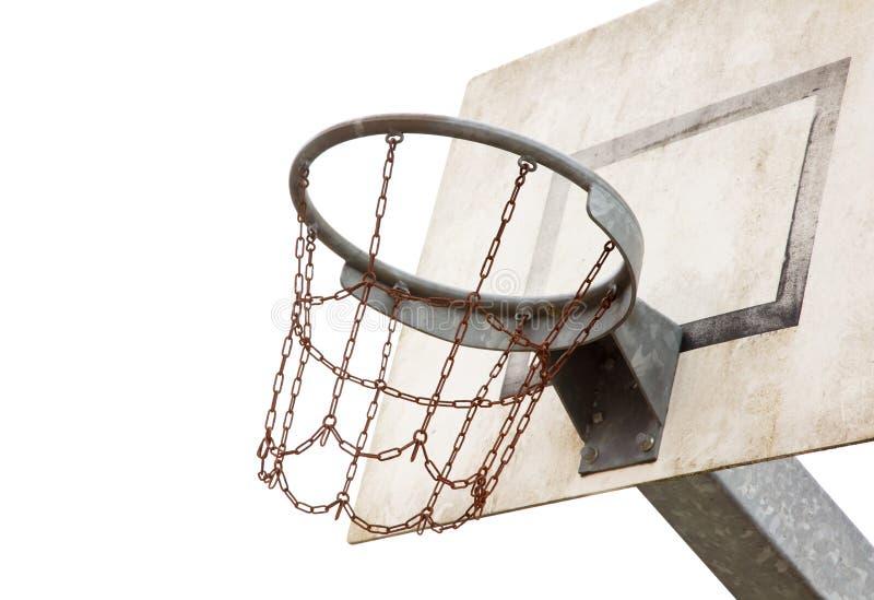 Γήπεδο μπάσκετ σε μια παλαιά φυλακή στοκ εικόνα