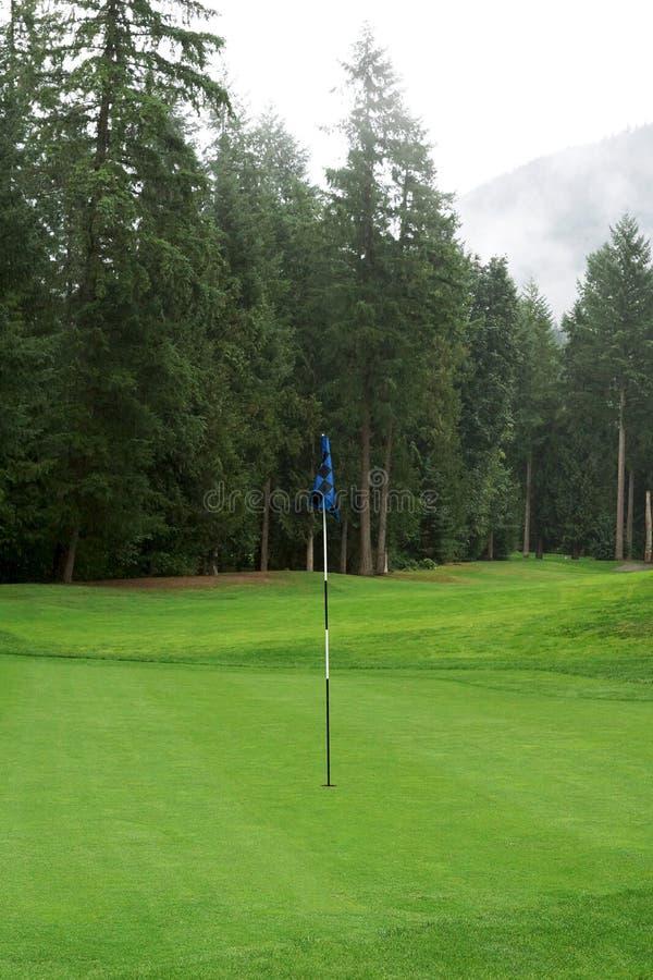 Γήπεδο του γκολφ Golfing στοκ εικόνες με δικαίωμα ελεύθερης χρήσης