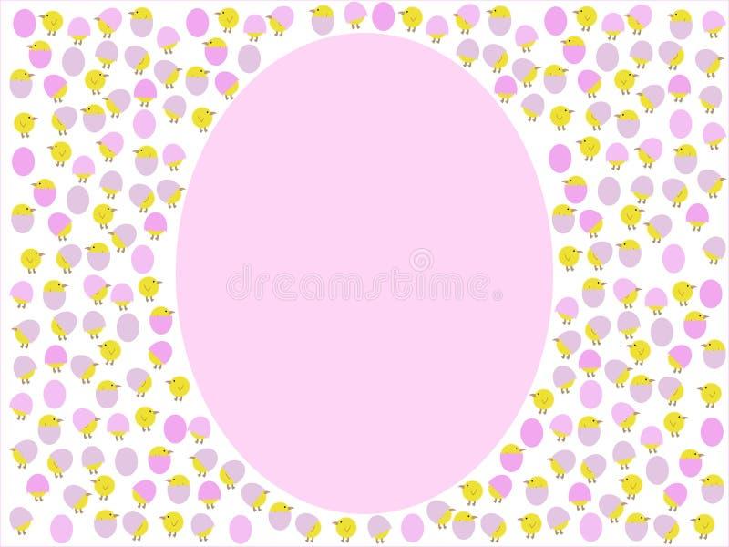 γίγαντας αυγών νεοσσών κ&iota απεικόνιση αποθεμάτων