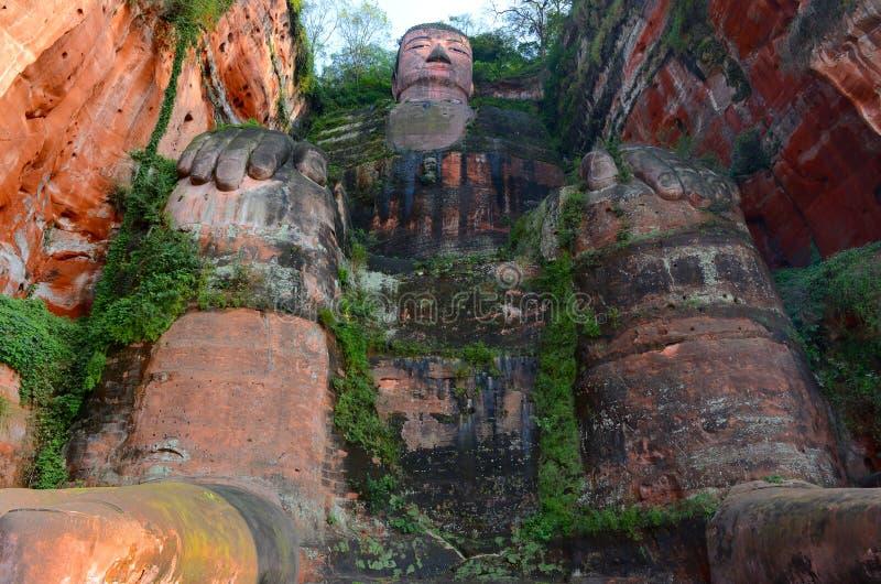 γίγαντας του Βούδα leshan στοκ εικόνες