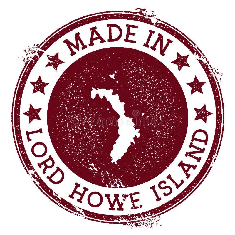 Γίνοντας στο γραμματόσημο Λόρδου Howe Island ελεύθερη απεικόνιση δικαιώματος