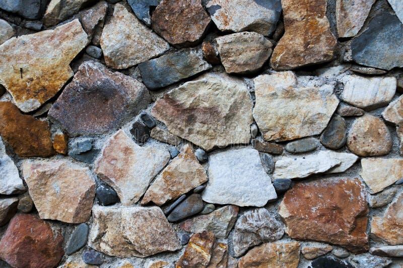 γίνοντα ανασκόπηση λευκό τοίχων σύστασης πετρών πετρών στοκ φωτογραφία με δικαίωμα ελεύθερης χρήσης