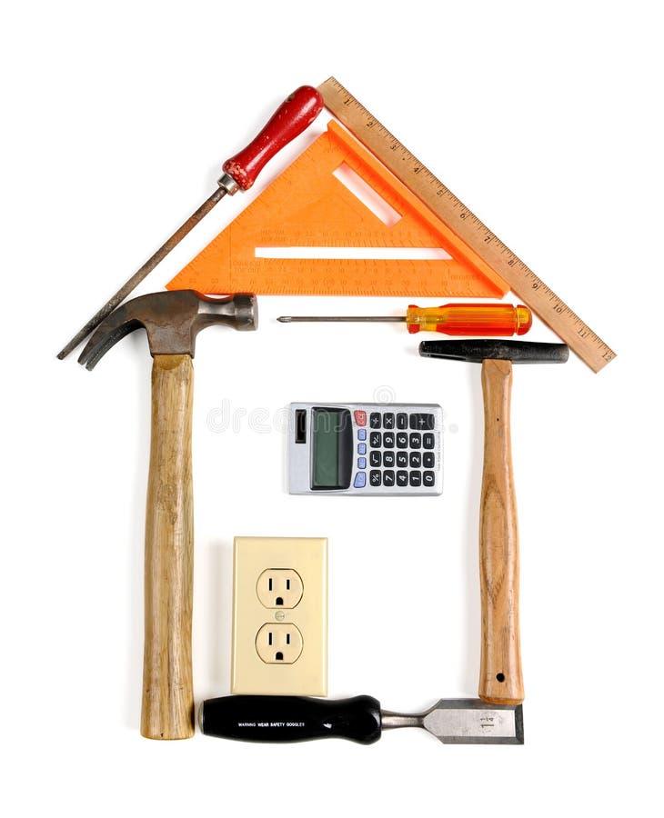 γίνοντα σπίτι εργαλεία στοκ εικόνα με δικαίωμα ελεύθερης χρήσης