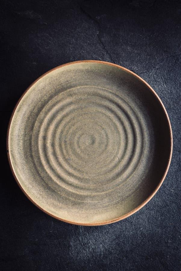 Γίνοντα τέχνη πιάτο στοκ εικόνα