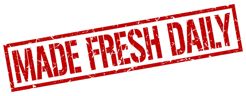 γίνοντα φρέσκο καθημερινό κόκκινο grunge τετραγωνικό εκλεκτής ποιότητας γραμματόσημο ελεύθερη απεικόνιση δικαιώματος