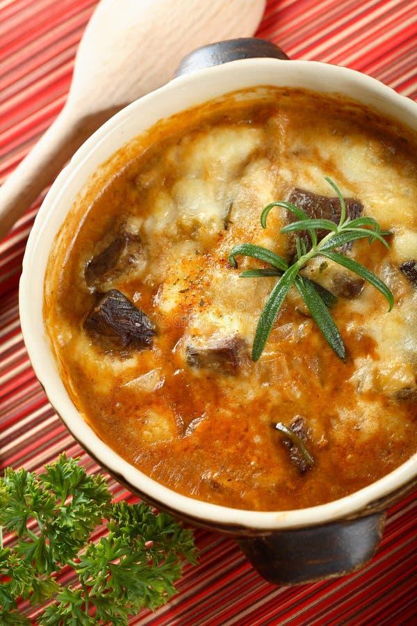 γίνοντα goulash πρόβειο κρέας στοκ εικόνες με δικαίωμα ελεύθερης χρήσης