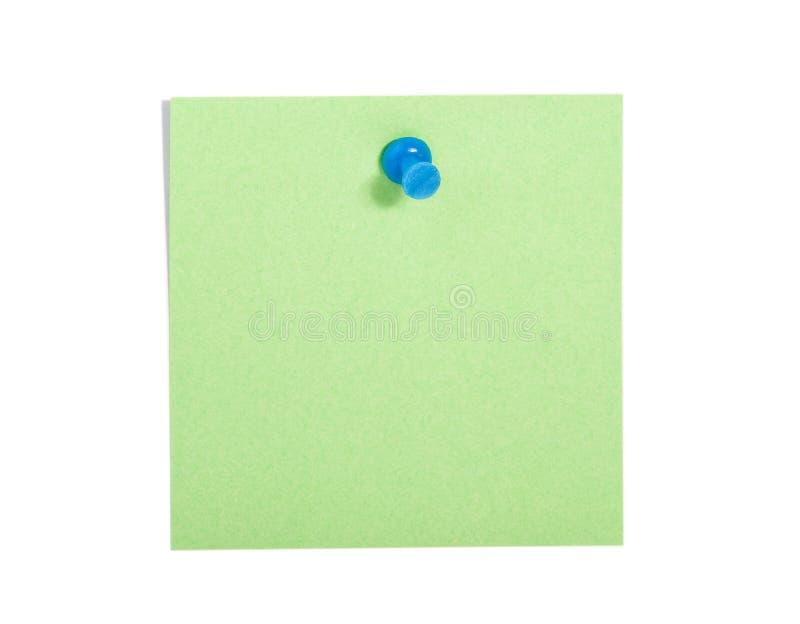 γαλαζοπράσινη υπενθύμισ&e στοκ φωτογραφία με δικαίωμα ελεύθερης χρήσης