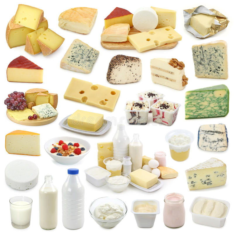 γαλακτοκομικά προϊόντα σ& στοκ φωτογραφίες με δικαίωμα ελεύθερης χρήσης