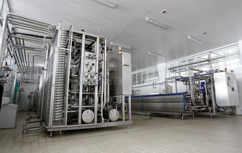 γαλακτοκομικό εργοστά&s στοκ εικόνα με δικαίωμα ελεύθερης χρήσης