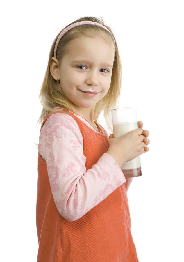 Download γαλακτώδες Moustache κοριτσιών Στοκ Εικόνα - εικόνα από γάλα, τρόφιμα: 2229695