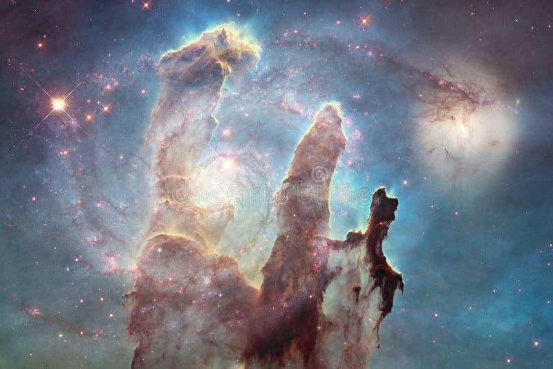 Γαλαξίας κάπου στο βαθύ διάστημα Ομορφιά του κόσμου στοκ εικόνες με δικαίωμα ελεύθερης χρήσης