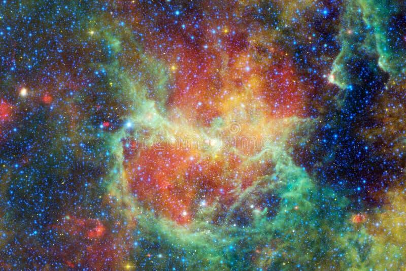 Γαλαξίας κάπου στο βαθύ διάστημα Ομορφιά του κόσμου στοκ φωτογραφία με δικαίωμα ελεύθερης χρήσης