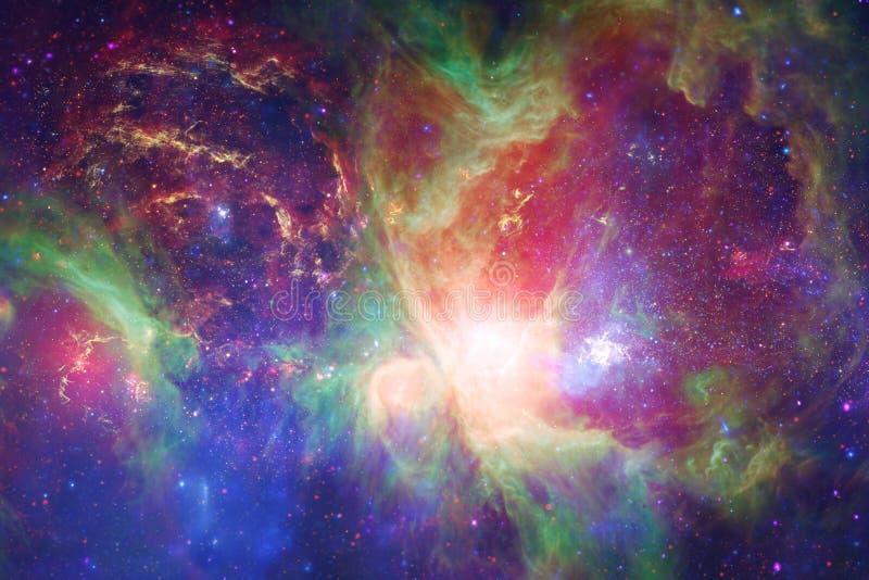 Γαλαξίας στο μακρινό διάστημα, ομορφιά του κόσμου στοκ εικόνα με δικαίωμα ελεύθερης χρήσης