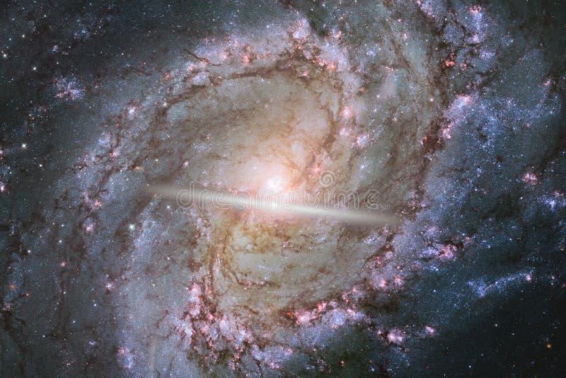 Γαλαξίας στο μακρινό διάστημα, ομορφιά του κόσμου στοκ φωτογραφία με δικαίωμα ελεύθερης χρήσης