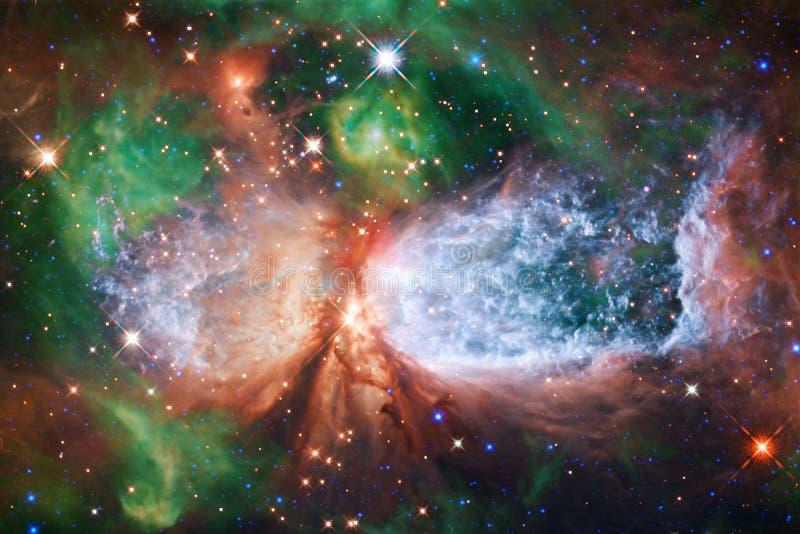 Γαλαξίας στο μακρινό διάστημα, ομορφιά του κόσμου στοκ εικόνες
