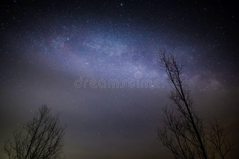 Γαλαξιακό κέντρο, γαλακτώδης τρόπος στοκ φωτογραφίες με δικαίωμα ελεύθερης χρήσης