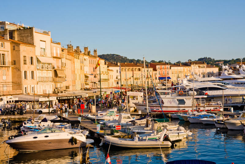 Γαλλία Άγιος tropez στοκ εικόνες
