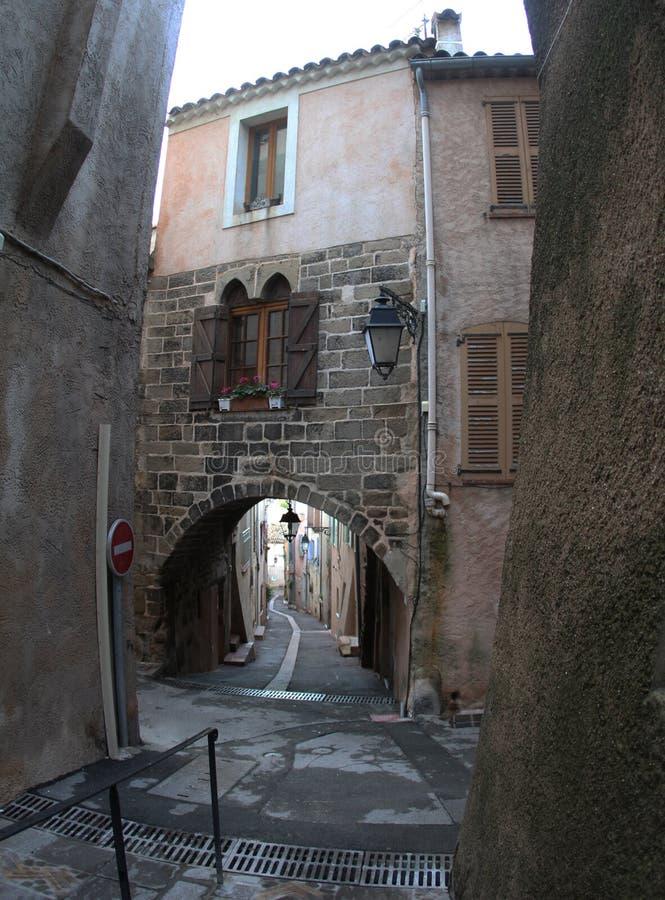 Γαλλία, Roquebrune στοκ εικόνα