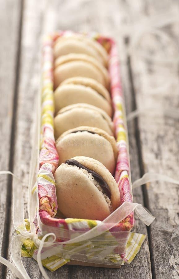 γαλλικά macarons στοκ εικόνα