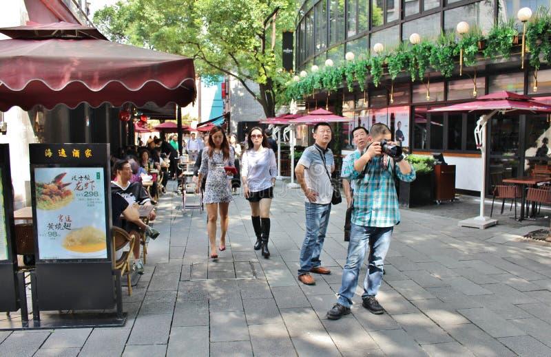 Γαλλική παραχώρηση της Σαγκάη στοκ εικόνες